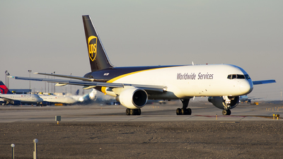 A picture of N412UP - Boeing 75724APF - UPS Airlines - © Michael Rodeback