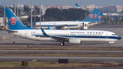 B-1953 - Boeing 737-81B - China Southern Airlines
