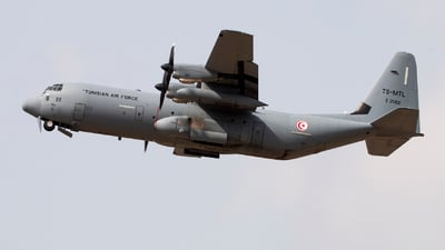 Z21122 - Lockheed Martin C-130J-30 Hercules - Tunisia - Air Force