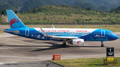 A picture of B8560 - Airbus A320214 - Loong Air - © SEN BAI