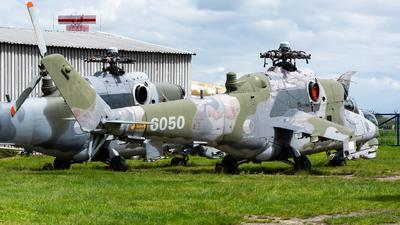 6050 - Mil Mi-24DU Hind D - Czech Republic - Air Force