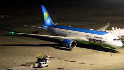 A picture of UK78705 - Boeing 7878 Dreamliner - Uzbekistan Airways - © Jeppesen_Tu