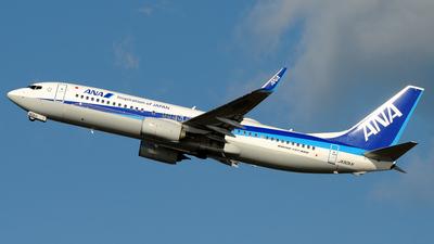 JA90AN - Boeing 737-8AL - All Nippon Airways (ANA)