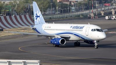 XA-VER - Sukhoi Superjet 100-95B - Interjet