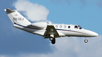 OO-CCJ - Cessna 525 Citationjet CJ1 - Air Service Liège (ASL)