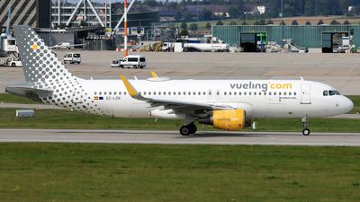 A picture of ECLZN - Airbus A320214 - Vueling - © Eddie Heisterkamp