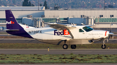 N726FX - Cessna 208B Super Cargomaster - FedEx Feeder (West Air)