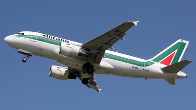 EI-IMB - Airbus A319-112 - Alitalia