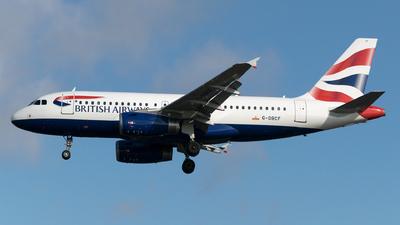A picture of GDBCF - Airbus A319131 - British Airways - © Daniel Riederer