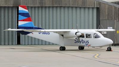 G-SBUS - Britten-Norman BN-2A-26 Islander - Isles Of Scilly Skybus