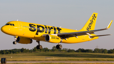 N691NK - Airbus A320-232 - Spirit Airlines