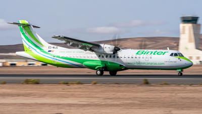 A picture of ECMJG - ATR 72600 - Binter Canarias - © Ses