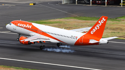 A picture of HBJYE - Airbus A320214 - easyJet - © Goncalo Guimaraes