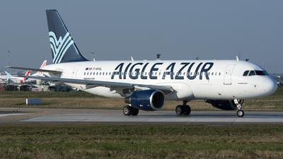 F-HFUL - Airbus A320-214 - Aigle Azur