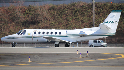 A picture of N474PE - Cessna 560 Citation Ultra - [5600474] - © Weliang