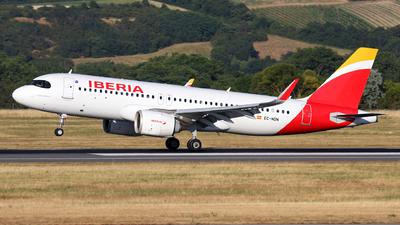 A picture of ECNDN - Airbus A320251N - Iberia - © Max Hrusa