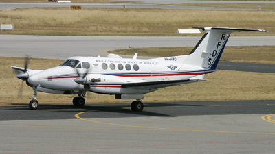 VH-HWO - Beechcraft B200 Super King Air - Royal Flying Doctor Service of Australia (Western Operations)