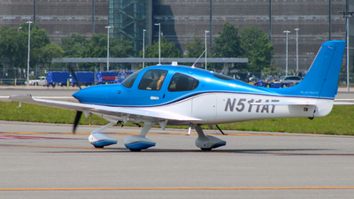 N511AT - Cirrus SR22-GTS - Private