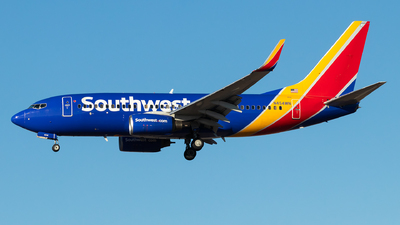 N454WN - Boeing 737-7H4 - Southwest Airlines