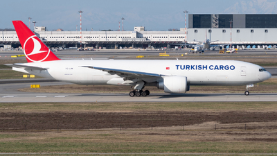 TC-LJM - Boeing 777-FF2 - Turkish Airlines Cargo