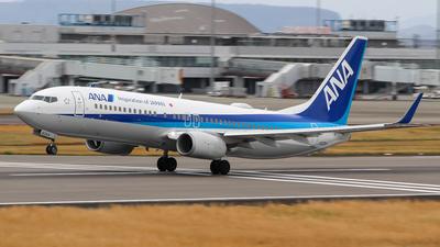 JA82AN - Boeing 737-881 - All Nippon Airways (ANA)