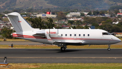 C-GDWF - Bombardier CL-600-2B16 Challenger 604 - Private