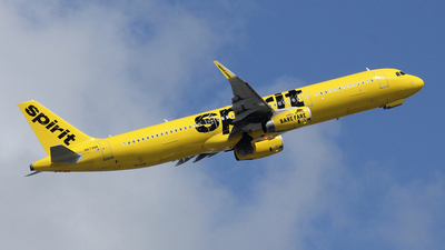 N674NK - Airbus A321-231 - Spirit Airlines