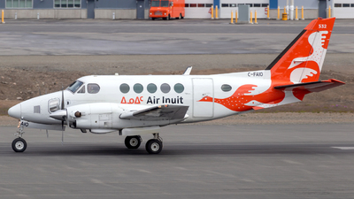 C-FAIO - Beechcraft A100 King Air - Air Inuit