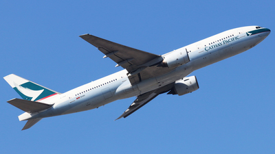 B-HNA - Boeing 777-267 - Cathay Pacific Airways
