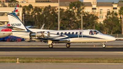 N574BP - Cessna 560 Citation V - Private