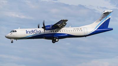 A picture of VTIYA - ATR 72600 - IndiGo - © CTaviation