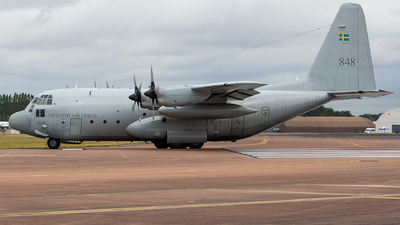 84008 - Lockheed Tp84 Hercules - Sweden - Air Force