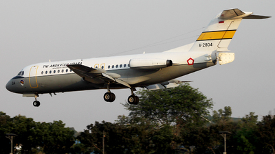 A-2804 - Fokker F28-4000 Fellowship - Indonesia - Air Force
