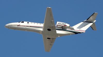 A picture of N53NW - Cessna 525B CitationJet CJ3 - [525B0053] - © Borut