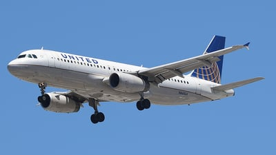 N441UA - Airbus A320-232 - United Airlines