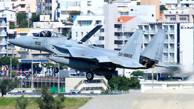02-8802 - McDonnell Douglas F-15J Eagle - Japan - Air Self Defence Force (JASDF)