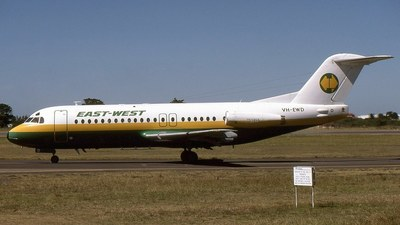 VH-EWD - Fokker F28-4000 Fellowship - East-West Airlines