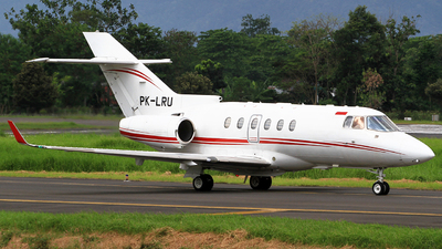 PK-LRU - Hawker Beechcraft 900XP - Private