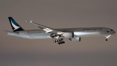 B-KPQ - Boeing 777-367ER - Cathay Pacific Airways