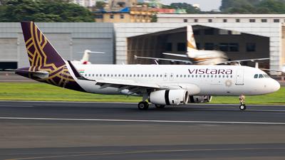 VT-TTE - Airbus A320-232 - Vistara