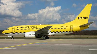 D-AGET - Boeing 737-75B - Hapag-Lloyd Express