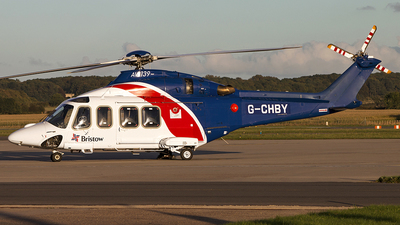 G-CHBY - Agusta-Westland AW-139 - Bristow Helicopters