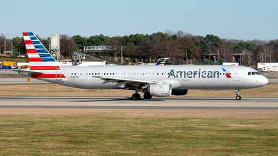 A picture of N193UW - Airbus A321211 - American Airlines - © Yan777