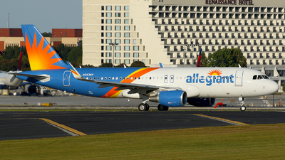 A picture of N253NV - Airbus A320214 - Allegiant Air - © Carlos Barcelo
