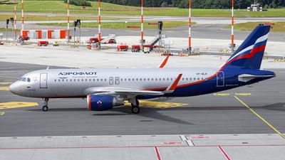 A picture of VPBLR - Airbus A320214 - Aeroflot - © Goncalo Guimaraes