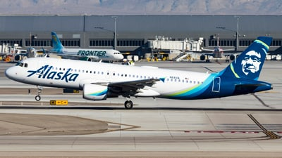 A picture of N841VA - Airbus A320214 - Alaska Airlines - © David Lee