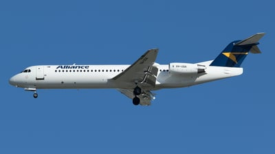 VH-UQA - Fokker 100 - Alliance Airlines