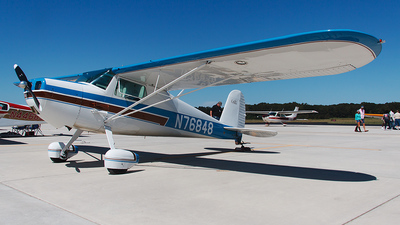 A picture of N76848 - Cessna 120 - [11282] - © Bruce Leibowitz