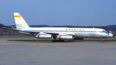 EC-BQA - Convair CV-990-30A-5 - Spantax