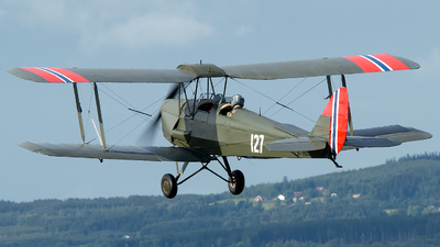 LN-MAX - De Havilland DH-82A Tiger Moth - Private
